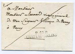 P52P CHATEAU-SALINS  54x10  / Dept De La Meurthe - 1801-1848: Voorlopers XIX
