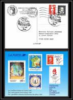 73605 Vignette Palissy + Marianne Du Bicentenaire Carte Postale Postcard France - 1989-96 Bicentenial Marianne