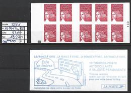 ANNEE 2001 SPLENDIDE LOT DE LUXE CARNET NON PLIER N° 3419-C9a NEUF (**) CÔTE 53.00 € Y&T A SAISIR!!!!!! - Commemoratives