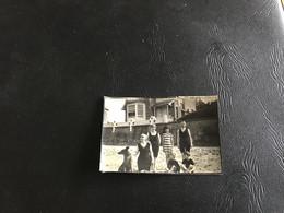 Photo - 1920 - GRIS NEZ (Pas De Calais) Famille Maison Bord De Plage - Lieux