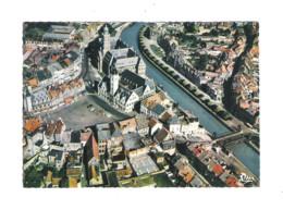 DENDERMONDE - TERMONDE - LUCHTOPNAME STADHUIS - GERECHTSHOF EN DENDER  (9564) - Dendermonde