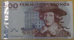 Suède - Billet De 500 Kronor - Carl XI & Christopher Polhem - Non Daté - P65a - Zweden