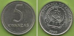Angola - 5 Kwanzas 1999 - Angola