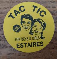 Autocollant Publicitaire, Coiffeur, Tac Tic, Estaires - Stickers