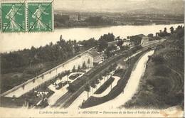 10463 CPA Andance - Panorama De La Gare Et Vallée Du Rhône - Other Municipalities