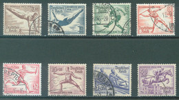 REICH - USED/OBLIT. - 1936 - OLYMPIC GAMES - Mi 609-616 Yv 565-572 - Lot 23588 - Used Stamps