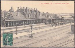 CPA De 60 BEAUVAIS Intérieur De La Gare Voyagée Et Non écrite Au Verso - Beauvais