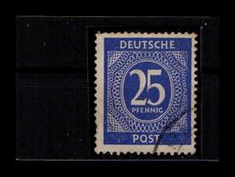 KONTROLLRAT 1946 Nr 926b Gestempelt (404539) - American,British And Russian Zone