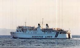 """Photo Bateau Identifié Transport """" Golden Virgina """" Ex """" Corse """" - Bateaux"""