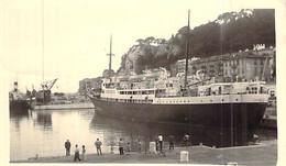 """Photo Bateau Identifié Transport """" Commandant Queré """" Danjs Un Port Corse - Bateaux"""