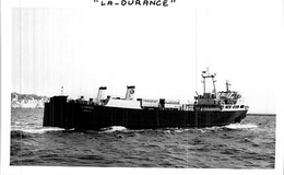 """Photo Bateau Identifié Transport """" La Durance """" - Barche"""
