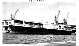 """Photo Bateau Identifié Transport """" L'Isère """" - Barche"""