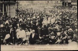 CPA Köln Am Rhein, XX. Int. Eucharistischer Kongress 1909, Ehrewache V. Sanctissimum - Andere