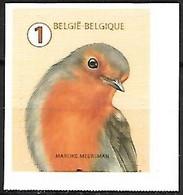 Belgium - MNH ** 2020 Self -adhesive : European Robin - Erithacus Rubecula - Sperlingsvögel & Singvögel