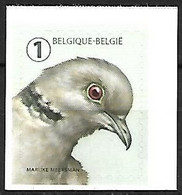 Belgium - MNH ** 2020 Self -adhesive :  Eurasian Collared Dove  -  Streptopelia Decaocto - Tauben & Flughühner