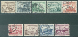 REICH - USED/OBLIT. - 1937 -  Mi 651-659 Yv 594-602 - Lot 23590 - Used Stamps