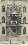 ANCONE Portail De L'Eglise Sainte Marie Majeure ( Ancona - ITALIE ) - Ancona