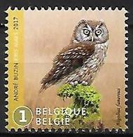 Belgium - MNH ** 2017 :  Boreal Owl  -  Aegolius Funereus - Sperlingsvögel & Singvögel
