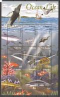 PK084 LIBERIA FISH & MARINE LIFE OCEAN LIFE 1KB MNH - Vita Acquatica