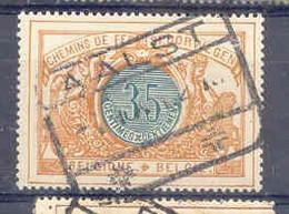 F294 -België  Spoorweg   Stempel AALST - 1895-1913