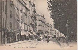 CANNES  ( 06 )  LA  RUE  FÉLIX FAURE    - C PA ( 21 / 5 / 277  ) - Cannes