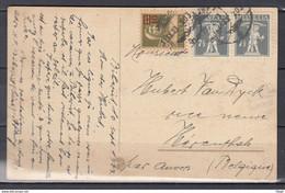 Postkaart Van Ambulant Naar Herenthals (Belgie) - Briefe U. Dokumente