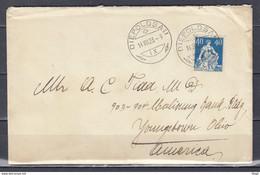 Brief Van Diepoldsau Naar Ohio (Amerika - Briefe U. Dokumente