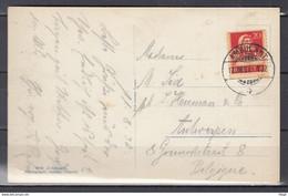 Postkaart Van Ambulant Naar Antwerpen (Belgie) - Briefe U. Dokumente