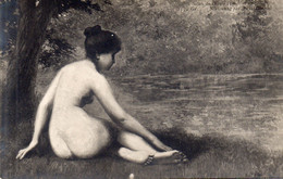 DC535 - Ak Schöne Motivkarte Nackte Frau Nude - Mujeres