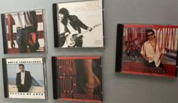 5 C.D. De Bruce Springsteen : Born To Run (1975-8 Titres) -Born In The USa (1984-12 Titres) - Tunnel Of Love (1987-12 Ti - Rock