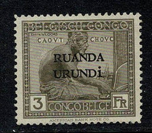 Ruanda Urundi 1924 OBP/COB 59 Neuf Sans Gomme (2 Scans) - 1924-44: Mint/hinged