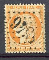 FR - Yv. N° 38 (o) 40c  Orange Cachet Gros Chiffres Cote 12 Euro BE R 2 Scans - 1870 Besetzung Von Paris
