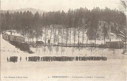 Dépt 88 - REMIREMONT - Chasseurs à Pied à L'exercice - (militaires) - Phot. Homeyer Et Eyret, N° 4 - Remiremont