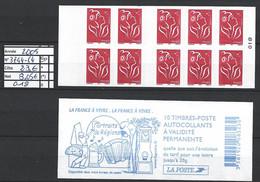 ANNEE 2005 SPLENDIDE LOT DE LUXE CARNET NON PLIER N° 3744-C4 NEUF (**) CÔTE 23.00 € Y&T A SAISIR!!!!!! - Commemoratives