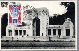 CARTE POSTALE 1ER JOUR FRANCE 1978 - 50E ANNIV. DE LA LIBERATION - ARC DE TRIOMPHE - - Monuments
