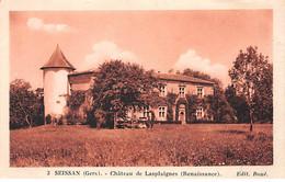 SEISSAN - Château De Lasplaignes - Très Bon état - Other Municipalities