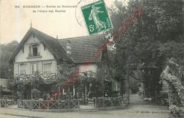 92.  ROBINSON .  Entrée Du Restaurant De L'Arbre Des Roches . - Sonstige Gemeinden