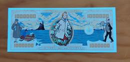 Belgium/USA - Kuifje/Tintin Trenchcoat - 1 Million Tintin Dollars - Commemorative Note - UNC - Otros Accesorios