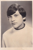 Old Real Original Photo - Portrait Of A Young Boy - Ca. 9x6.5 Cm - Persone Anonimi