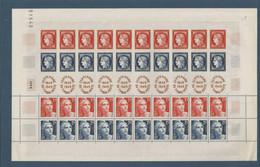 FRANCE - FEUILLE TIMBRES NEUFS** - 1949 - CENTENAIRE DU TIMBRE POSTE - VOIR 2 SCANS ET DESCRIPTION - Nuovi