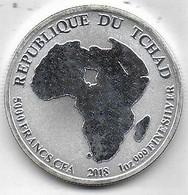 TCHAD - 5000  Francs CFA - 2018 - African Lion - Chad