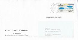 Spanien / Spain - Umschlag Echt Gelaufen / Cover Used (f1207) - 1991-00 Cartas