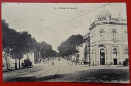 Cpa BELEM DO PARA Avenida De Nazareth Tampon Adresse 7e Rgt De Genie - Belém