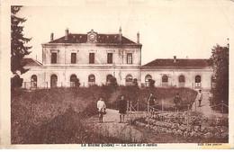 LE BLANC - La Gare Et Le Jardin - état - Le Blanc