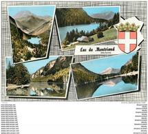Photo Cpsm Cpm 74 MONTRIOND. Le Lac 1967. Pour Saint-Jean-du-Var - Andere Gemeenten