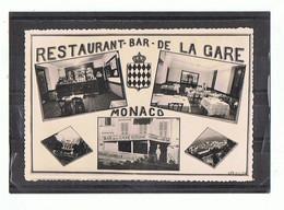 MONACO - Restaurant Bar De La Gare - 1242 - Bars & Restaurants