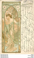 """HR MUCHA Illustrateur """" Rêverie Du Soir """" Publicité Pour La Belle Jardinière 1905 - Mucha, Alphonse"""