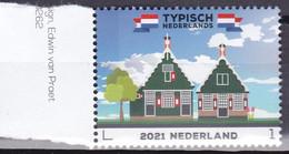 Nederland 2021, Postfris MNH, NVPH ?, Wooden Houses - Nuevos