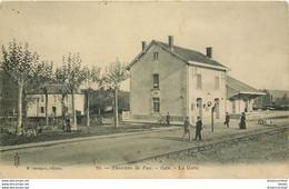 M. 64 GAN. La Gare Avec Employés - Pau