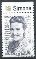 FRANCIA 2021 - Simone De Beauvoir - Cachet Rond - Unclassified